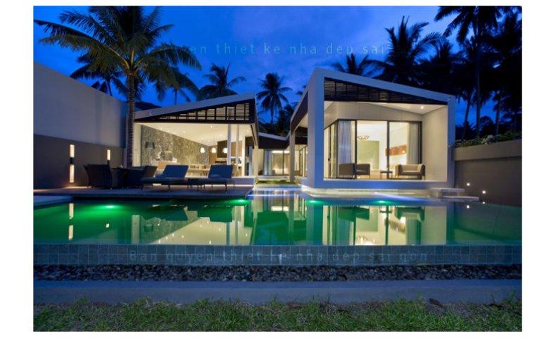 Mẫu Nhà Đẹp Hiện Đại Có Bể Bơi | Anh Hùng ĐN | NP-101