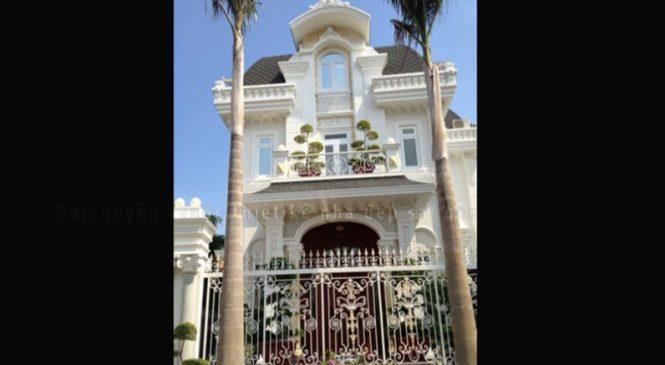 Mẫu Thiết Kế Biệt Thự Cổ Điển Pháp Quận 2 | BT-108
