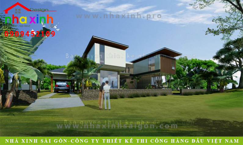 Mẫu Biệt Thự Vườn Đẹp Hiện Đại Và Sang Trọng | Thủy Tân | BT-151