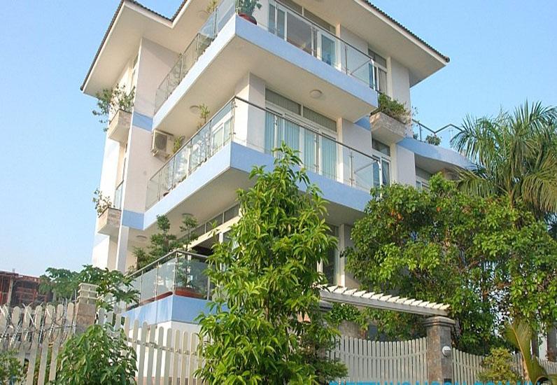 Mẫu Biệt Thự Đẹp 4 Tầng Ven Sông Sài Gòn | BT-133