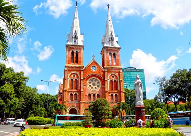 Kiến Trúc Nhà Thờ Đức Bà Thành Phố Hồ Chí Minh