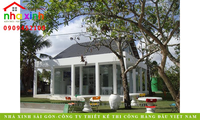 Mẫu Nhà Vườn Phong Cách Milimalism