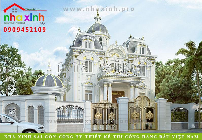 Dinh Thự Cổ Điển Pháp | Kim Anh | Biên Hòa | BT-160
