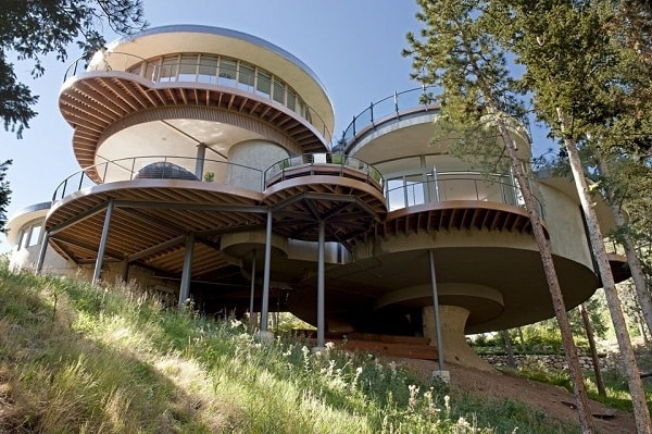 Thiết Kế Biệt Thự Có Cấu Trúc Hình Tròn Ở Colorado