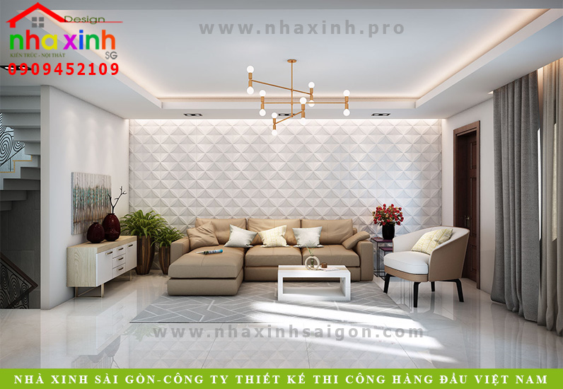 Nội Thất Nhà Phố Đẹp Hiện Đại | Cô Huệ – Bình Tân | NT-183