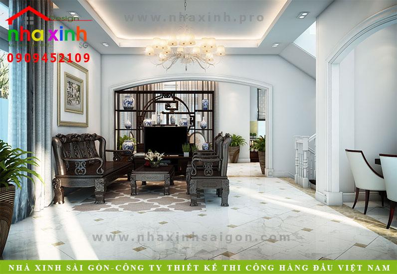 Thiết Kế Nội Thất Biệt Thự Đẹp Nhà Bác Hảo | NT-163