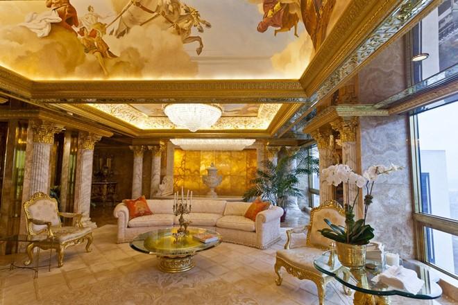 Bên Trong Biệt Thự Dát Vàng Của Tân Tổng Thống Mỹ Donald Trump
