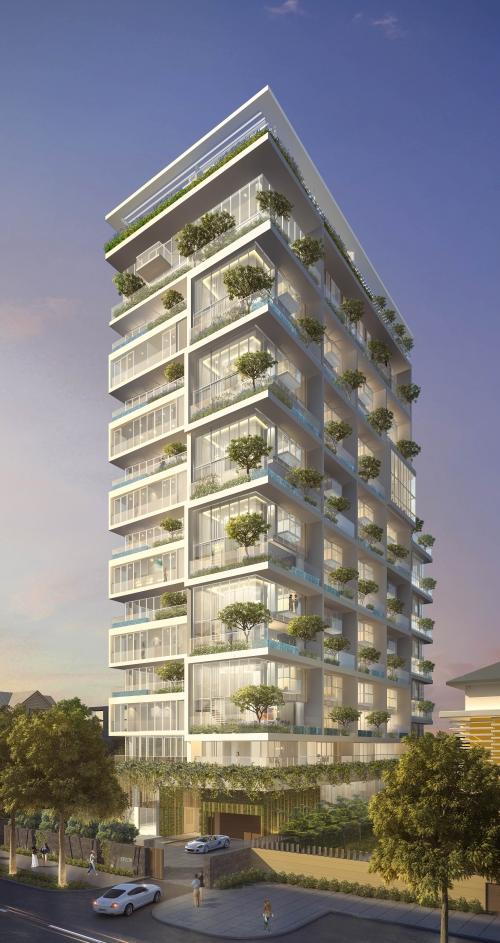Serenity Sky Villas: Chốn an cư mới dành cho giới thượng lưu