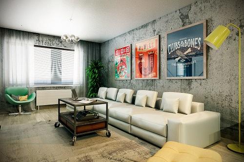 Ý tưởng trang trí phòng khách nhà xinh cực đẹp để đón Tết