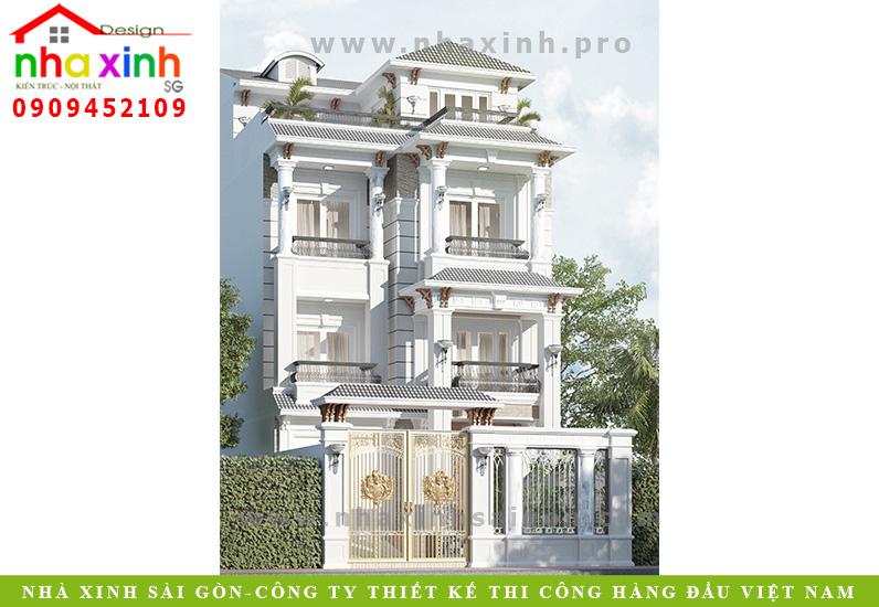 Thiết Kế Biệt Thự Cổ Điển | Cô Hợi | Quận 2 | BT-105