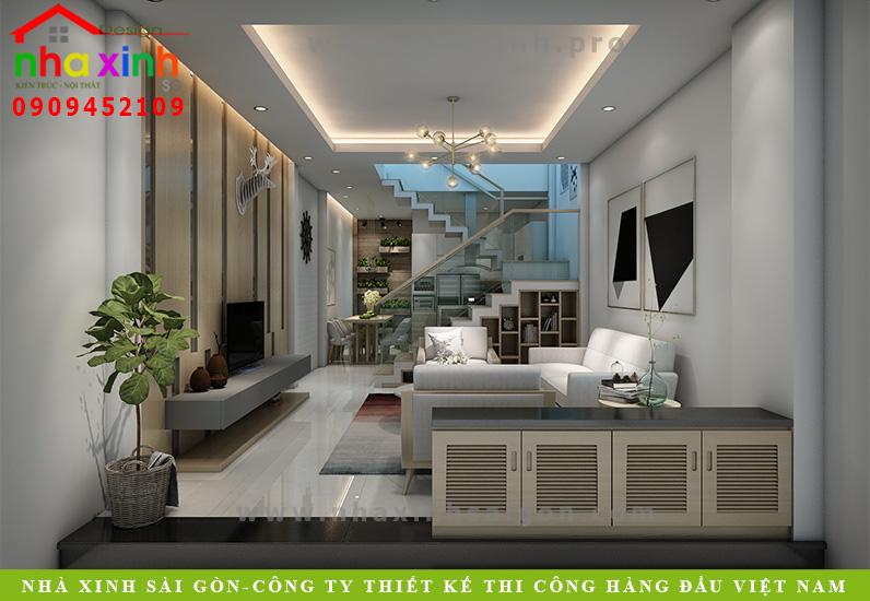 Nhà Phố Đẹp Hiện Đại Sài Gòn | Bác Linh | NP-134