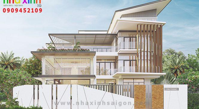 Biệt Thự 3 Tầng Đẹp Aeon Mall Bình Tân | Anh Chiến | BT-173