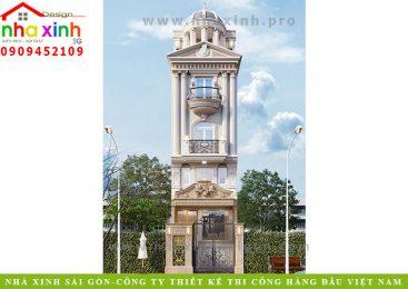 Nhà Phố Cổ Điển 4 Tầng | Anh Vinh | NP-190