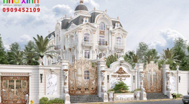 Dinh Thự Cổ Điển Pháp Kiểu Lâu Đài | Ông Học | BT-126