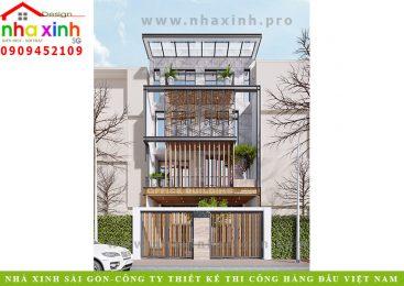 Mẫu Nhà Phố Kết Hợp Văn Phòng | Chị Châu | Quận 2 | NP-181