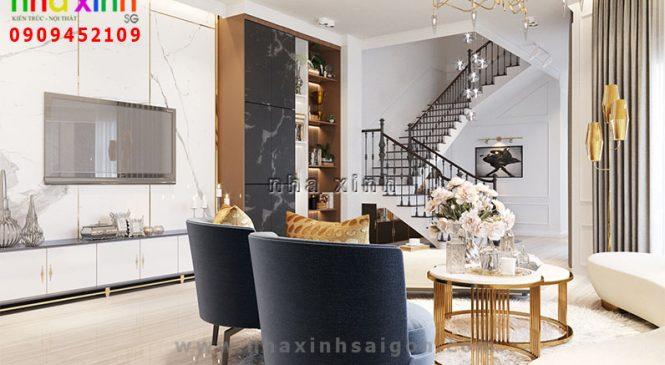 Mẫu Nội Thất Biệt Thự Cổ Điển Tiện Nghi | Anh Giang | NT-149