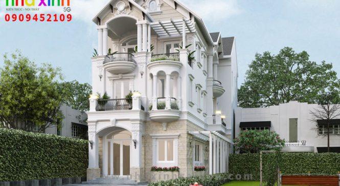 Biệt Thự Tân Cổ Điển 3 Tầng Đẹp | Chị Thu | Bình Thạnh | BT-203
